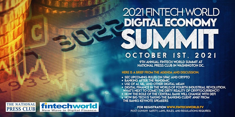 2021 Fintech World Digital Economy Summit